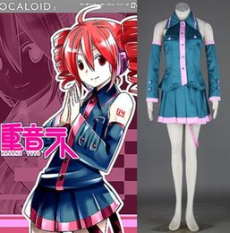 Wholesale Teto Cosplay - Vocaloid kasane teto cosplay costume halloween