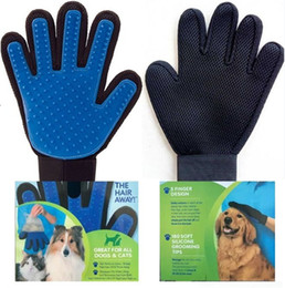 Wholesale Customized Gloves - Pet hair Rubber massage gloves Bath artifact dog supplies a variety of colors can be customized EUB210
