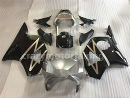 Wholesale Honda Rr - 3 gifts New ABS Fairing Kits 100% Fit For HONDA CBR954RR CBR900RR 02 03 CBR CBR900 900RR 954 954RR CBR954 RR 2002 2003 Nice Injection mold