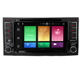 "Wholesale Car Dvd Volkswagen Touareg - 7"" Touch Screen Android 6.0 Car DVD Stereo For Volkswagen Touareg 2004-2011 GPS Navi 2G RAM 32G ROM BT4.0 Phonebook WIFI 4G Network 8-Core"