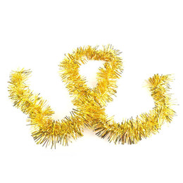 Wholesale Colorful Christmas Tree Garland - 2M Colorful Ribbon Tops Garland Encryption Trees Decoration Ribbons Artificial Hanging Ornaments wedding party hanging ornaments