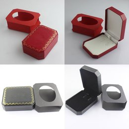 Wholesale Velvet Necklace Gift Boxes - Branded bracelet and necklace jewelry gift box free shipping