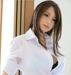 Wholesale Best Doll Toys For Sex - Full body real sex doll japanese silicone sex dolls lifelike male love dolls life size realistic for men sex toys by best price promotion