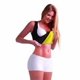 Wholesale Hot Pink Shirts Wholesale - Sexy Shaper Shirt Women Neoprene Slimming Thermo Redu Shaper Hot Slimming Shaper Cami Hot Shapers Shirt