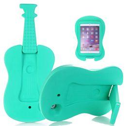 Wholesale Children Bag China - EVA Foam Guitar Case Shockproof Washable Coverage Kids Children Tablet Cover for iPad mini 4 Opp Bag
