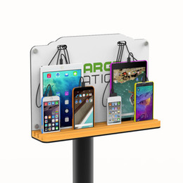 Wholesale Multi Cell Charger - ZTECH Wall Mounted Cell Phone Charging Station, Multi-Device Charging for up to 8 Devices includes iPhone, iPad, Samsung Galaxy, Tablets
