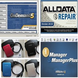 Wholesale Fast Porsche - 2014 mitchell on demand auto repair software and alldata 10.53 and mitchell manager in 750gb external hard drive fast shipping