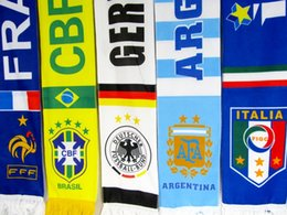 Wholesale Wholesale Scarves Sport - Real madrid Chelsea Sport Soccer Scarf 17*150cm milan Football Dortmunds Scarves Different Designs Two Sides Football Fans Scarf Souvenirs