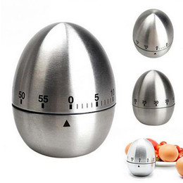Wholesale Eggs Manufacturers - 201 new Egg Stainless Steel 60,Minute Kitchen Timer,Silver Manufacturers supply, high quality free shipping