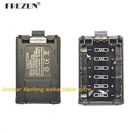 Wholesale Tyt Battery - Wholesale- New Two Way Radio Battery Case For BAOFENG UV-5R 5RE PLUS 5RA 5RB 5RC 5RD 5RE  TYT F8   Ham Radio With Free Shipping
