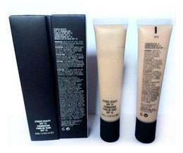Wholesale Big M Discount - Big Discount brand NEW SPF15 FOUNDATION 40ML best quality M C foundation 7 Colors NC15-20-25-30-35--37-40 MIX ORDER