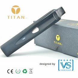 Wholesale Electronic Cigarette Best Seller - Best seller dry herb vaporizer Titan-1 vape pen vaporsource patent electronic cigarette original factory price retailer needed