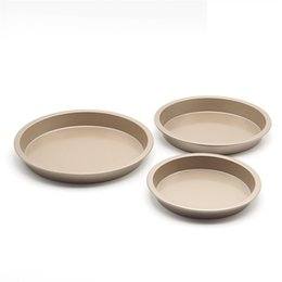 Wholesale Accessories Import - Wholesale- Hot selling Pans Pizza & Cake Overware Multi-size Kitchen Accessories Heavy Carbon Non-stick High Duty Round Mold Imported Pan