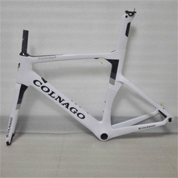 Wholesale Carbon Road Bike Frames China - Brand new carbon road bike frame all internal Derailleur Cables made in China UD weave glossy matte finishing