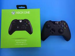 Wholesale Microsoft Wireless Bluetooth - New Xbox one consoles with logo Wireless Bluetooth Controller Elite Gamepad Joysticks for Microsoft Xboxone Controller with box with logo