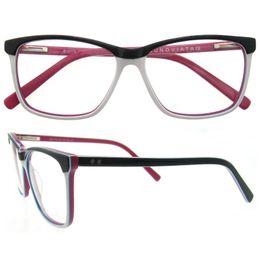 Wholesale Retro Square Clear Lens Glasses - Retro Vintage Eyeglasses Frame Square Optical Frame Women Men Myopia Prescription Glasses Frame Gafas Spectacle Eyewear B04179