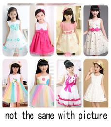 Robes d'été des filles coréennes robe de princesse bébé tutu vêtements pour enfants ? partir de fabricateur