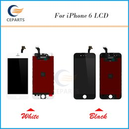 Wholesale Lcd For Parts - High quality A+++ For iPhone 6 LCD Display with Touch Screen Assembly Digitizer Replacement Parts Brand New No Dead Pixels Tianma OEM LCD