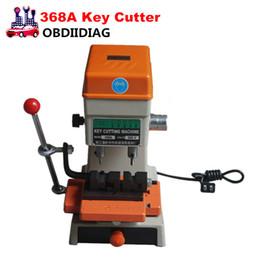 Wholesale Key Cutting Duplicated Machine - 368A Key Cutting Duplicated Machine Locksmith Tools Key Machine 200W 368 A Key Cutting Machine