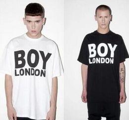 Wholesale Boy London Men - Mens T Shirts Fashion 2017 Brand Boy London Printed Tees Men Harajuku Letter Tops Camisetas T-shirt Male Hip Hop Rock Streetwear