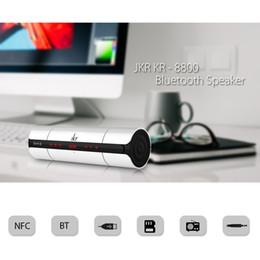 Gros-JKR Portable KR8800 NFC FM HIFI Haut-Parleur Bluetooth Sans Fil Stéréo Haut-parleurs Super Bass Caixa Se Som Sound Box Main Gratuit ? partir de fabricateur