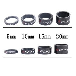 Wholesale Bmx Bikes Parts - hot sale 2015 2015 FCFB FW 3K full carbon washer bicycle washers bicycle parts bike parts+free shipping
