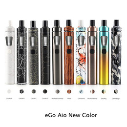 Wholesale Ego New Style Battery - new color Joyetech eGo Aio Kit 2.0ml Capacity 1500mAh Battery Anti-leaking Structure and Childproof Lock All-in-one Style Kit 100% Original