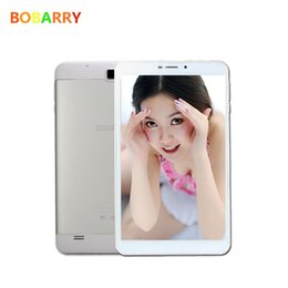 Wholesale Double Sim 3g - Wholesale- BOBARRY Octa Core 8 inch Double SIM card T8 Tablet Pc 4G LTE phone mobile 3G android tablet pc 4GB RAM 8 MP IPS