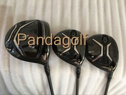 Wholesale Head Driver - Golf Woods Set Clubs 917D2 Driver 917d2 Fairway wood with graphite shaft golf clubs 917 Woods With Head Cover