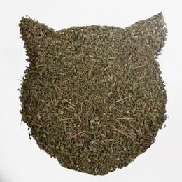 organic leaf Promo Codes - 2018 Direct Selling Hot Sale Catmint Food Kepp Dry Grade Aaaa 200g Catmint Herbal Leaf Food for Cat High Quality Healthy Catnip Organic Mint