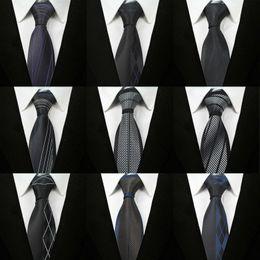 Wholesale Mens Ties 6cm - 70 Styles 6cm Fashion Slim Men Silk Ties Magnificent Noble Skinny Mens Neck Ties Handmade Wedding Necktie Night Bar Party Ties Stripes