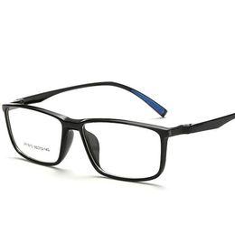 Erschwingliche gläser online-Großhandels- Studenten-dynamische Schutzbrillen-Schauspiele Ultra Light TR90 Full Frame erschwingliche Gases Frame Gezeiten- flache Spiegel Gläser männlich weiblich