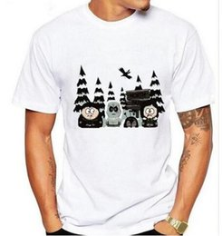 Wholesale Game Thrones T Shirts - New Arrival Creative Art Design Cartoon Game of Thrones South Park Printed T-Shirt Summer Men's Fashion Short Sleeve Tee Tops