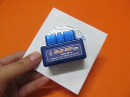 Wholesale Usb Elm 327 For Android - obd2 elm327 bluetooth adapters elm 327 bluetooth obd2 obd ii Works On Android v2.1 newest version from china