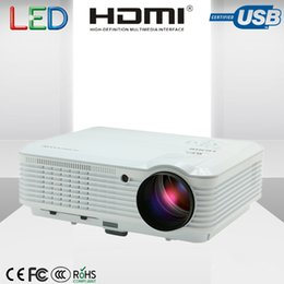 Wholesale Interface Games - Wholesale- Smart Projector for 4500 Lumens Home Theater Game Support with USB HDMI AV interface