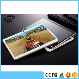 Wholesale Cheapest Android 4g - Cheapest 4GB IPS 10.1 Inch Octa Core Ram tablet pc 64GB Rom Android 5.1 Phone Call Tablet PC