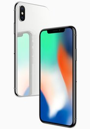 Wholesale Video Real - 2018 Hot New Unlocked Goophone X Real Face ID 4G LTE MTK 6735 Quad Core Glass Back Sealed Packaged