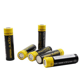 Wholesale Icr Batteries - Wholesale -Aspire 18650 battery 2600mah high capacity rechargable for Vaporizer Mod 20A 40A high discharge ICR DHL Free Shipping