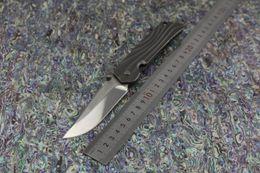 Wholesale Knife Japan - ROCKSTEAD HIZEN-TIC Japan High quality folding knife Japan D2 Mirror Blade Whole TC4 Titanium handle Camping tactical EDC knife tools