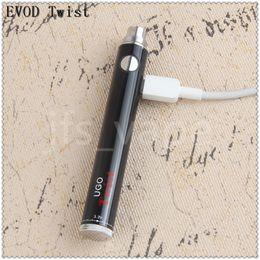 Wholesale China Ecig - China Direct UGO Twist vape mod 650 900mah Adjustable Voltage Micro evod USB ecig charge Battery 510 thread battery