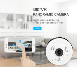 2019 camara medica HD FishEye Cámara IP wi-fi 960P 360 grados Mini WiFi 1.3MP Red Cámara de seguridad para el hogar Cámara panorámica de vigilancia IR