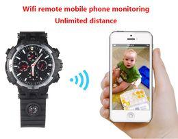 Wholesale Live Hidden Cameras - 16GB memory 720P HD WIFI Smartphone Ready watch Hidden IP Nanny Cam Wifi Cameras Hidden pinhole Cam with Live Stream PQ268C