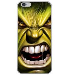 Marvel Avengers Superman Étui rigide pour iPhone 5 5s 6 6s 7 Plus Batman Dark Knight Spider Ironman Capitaine Spiderman ? partir de fabricateur