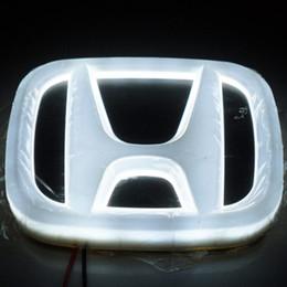 Wholesale Civic Led - For Honda Accord 08 09 Adessey 07 CIVIC 4D Emblem light lamp 4D led Back Rear Badge Sticker light LED light