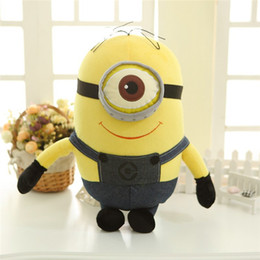 Wholesale Minions Plush Dolls - 161129 New Film Despicable Me 3D  Minions Big Plush Dolls Give The Gift To The Child