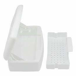 Wholesale Sterilizer Tray - sterile tray Nail Sterilizer Manicure Pedicure Tools Disinfection Box Maquiagem Sterilizer Tray Box Sterilizing Clean Nail Salon Tools