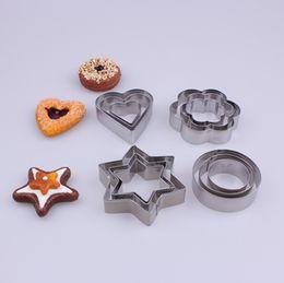 Wholesale Cute Fondant Cookies - Factory Price 12PCS SET Cute Shape Fondant Cake Baking Mould Pastry Biscuit DIY Cookie Cutters