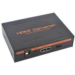 Canada NOUVEAU 1080 P HDMI à HDMI audio Optique SPDIF + RCA L / R Extracteur Splitter Convertisseur Support adaptateur 5.1CH LED indication DC 5V Puissance Offre
