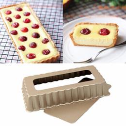 cupcake kitchen set Australia - 2017 Non-Stick Rectangular Shape Carbon Steel Kitchen Accessories Non-Toxic Baking Cake Cupcake Baking Tray Mould Mold