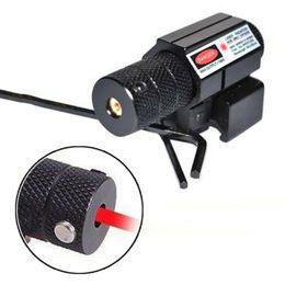 Wholesale Mini Red Dot Laser Weaver - Powerful Tactical Mini Red Dot Laser Sight Scope Weaver Picatinny Mount Set for Gun Rifle Pistol Shot Airsoft Riflescope Hunting